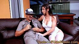 Filme porno nacional Ed Junior socando a morena Fabi safada