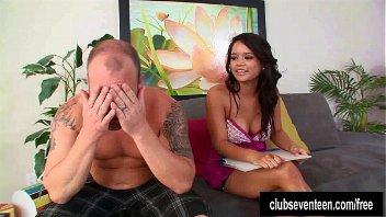 Moreninha em videos eroticos com o colega