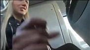 Tocando bronha no ônibus