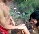 Pornozinho com a novinha na beira do rio