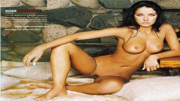Helen Ganzarolli nua e Lívia Andrade pelada na Playboy