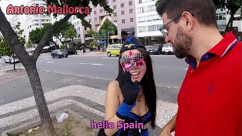 Sexo no carnaval com novinha brasileira safada