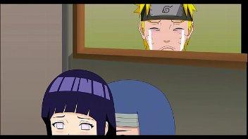 Hinata faz naruto chorar ao vela foder com outro