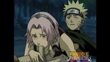 Naruto e sakura metendo com tesão no quarto